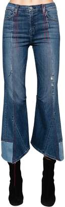 J Brand Kozaburo Asymmetrical Cotton Denim Jeans