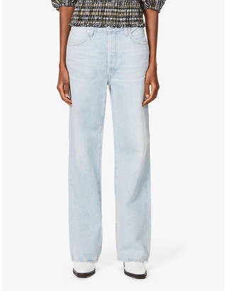 Citizens of Humanity Charlotte high-rise straight leg denim jeans