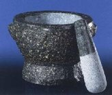 Cilio David Granite Mortar and Pestle