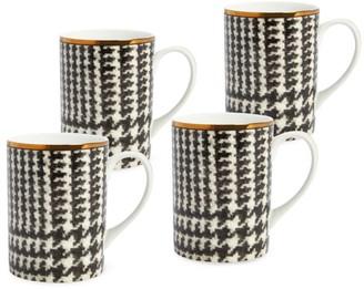 Ralph Lauren Wessex 4-Piece Porcelain Mug Set