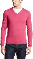 Calvin Klein Men's Jersey V-Neck Sweater