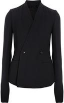 Rick Owens Stretch wool-blend jacket