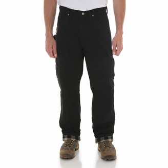Wrangler Men's Big and Tall Riggs Workwear Big & Tall Flannel Lined Ripstop Ranger Pant