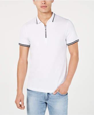 Armani Exchange Fixed Cotton Jersey Polo Shirt