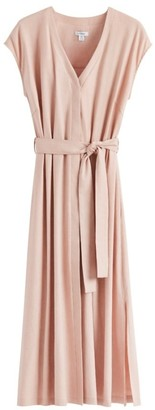 Cuyana Linen Button Front Dress
