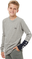 Billabong Kids Boys Splitsville Ls Tee Grey