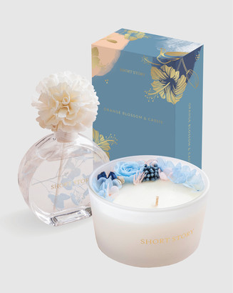 Short Story - Women's Blue Home - Candle and Diffuser Pack Orange Blossom - Size One Size at The Iconic