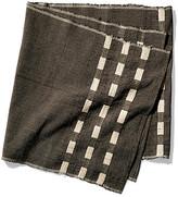 Bole Road Textiles Abren Table Runner - Onyx/Ivory