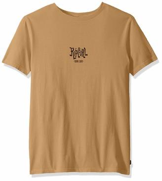 Rip Curl Men's SCORCHED Logo TEE Shirt
