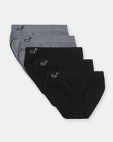 5 Pack Briefs Mixed Colours