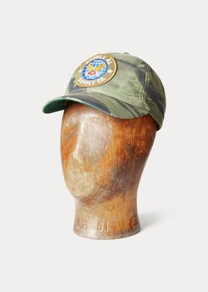 Ralph Lauren Camouflage Cap