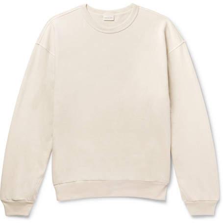 Dries Van Noten Huxton Oversized Loopback Cotton-Jersey Sweatshirt