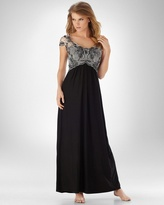 Soma Intimates Tulip Lace Long Gown