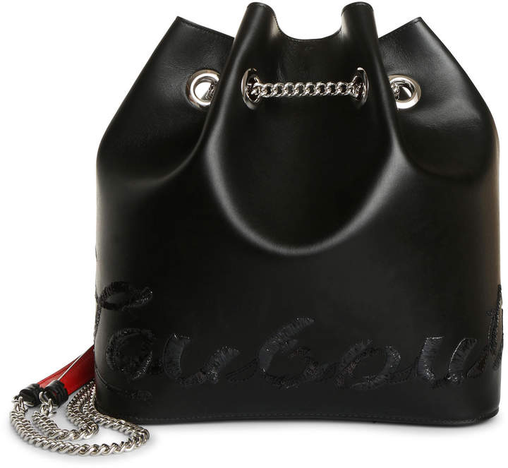 Christian Louboutin Marie Jane backpack leather bag