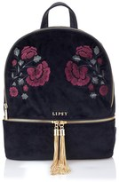 Lipsy Embroidered Backpack