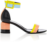 Pierre Hardy Women's Memphis Colorblocked Leather Sandals