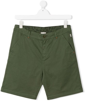 Paul Smith TEEN fitted chino shorts