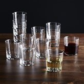 Crate & Barrel Bodega 11 Oz Glasses, Set of 12