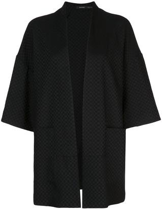 Natori Crepe Oversized Jacket
