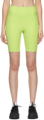 Girlfriend Collective Green High-Rise Bike Shorts