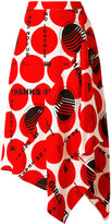 Stella McCartney circle print skirt - women - Silk - 42