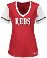 Majestic Women's Cincinnati Reds Curveball T-Shirt