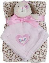 Cutie Pie Baby Cutie Pie 2-pc. Printed Velboa Blanket with Puppy Plush