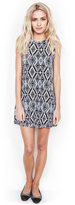 Michael Lauren Gilly Sleeveless Dress in Faded Navy