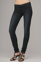 The Skinny Second Skin Legging Jean In Featherweight Blue Black