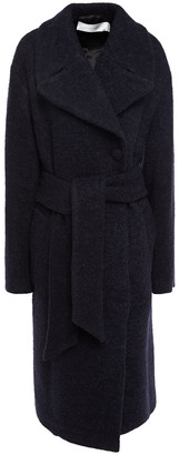 Victoria Victoria Beckham Double-breasted Wool-blend Boucle Coat