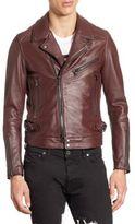 Diesel Black Gold Lorenzo Slim-Fit Leather Jacket