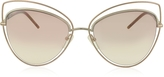 Marc Jacobs MARC 8/S Metal and Acetate Cat Eye Women's Sunglasses