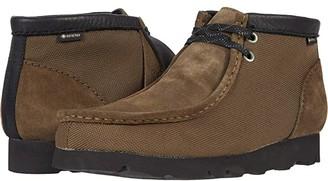 Clarks Wallabee Boot GTX (Khaki Leather) Men's Shoes