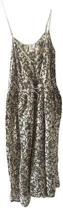 Stella Forest Green Cotton Dress for Women