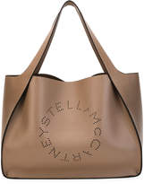 Stella McCartney Alter East-West Perforated Tote Bag