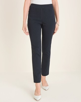 So Slimming Brigitte Stitched Stripe Ankle Pants