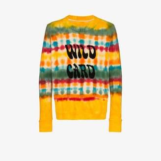 The Elder Statesman wild card tie-dye cashmere sweater