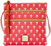 Dooney & Bourke Philadelphia Phillies Triple Zip Crossbody Bag