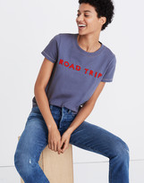 Madewell Embroidered Road Trip Tee