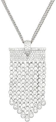 Diana M Fine Jewelry 6.50 Ct. Tw. Diamond Chandelier Necklace