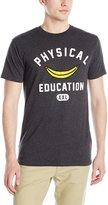 DC Men's Physed Short Sleeve T-Shirt, Dark Heather Grey