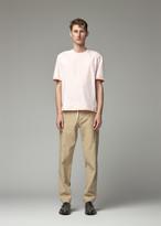 Thom Browne Men's Side Slit T-Shirt in Light Pink Size 1 100% Cotton