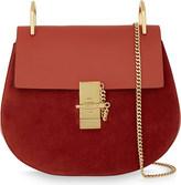 Chloé Drew suede & leather cross-body bag