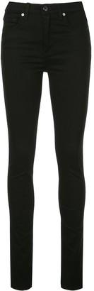 Veronica Beard side slit skinny jeans