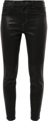 L'Agence Mid Rise Skinny Jeans