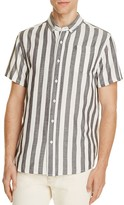 Saturdays Nyc Esquina Striped Slim Fit Button-Down Shirt