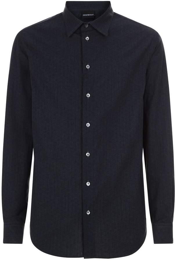 Emporio Armani Geometric Casual Shirt