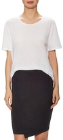 James Perse Cationic Cotton Relaxed Tee