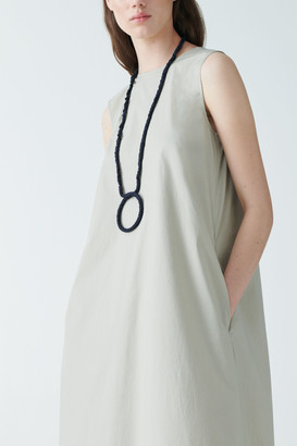 Cos Organic Cotton Circular Pendant Necklace