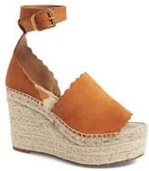 Chloé Women's Lauren Espadrille Wedge Sandal